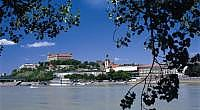 Pohľad na historické centrum Bratislavy
